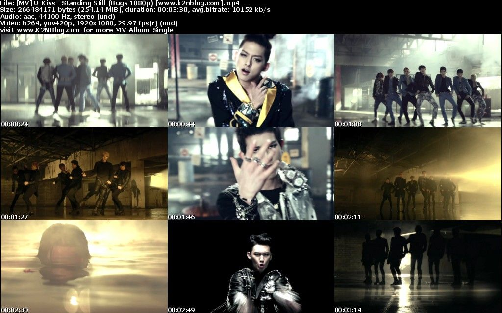 [MV] U Kiss   Standing Still (Bugs HD 1080p)