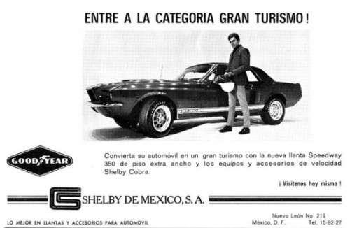 Convierta su automóvil en un gran turismo con la nueva llanta Speedway 250 de piso extra ancho y los equipos y acessorios de velocidad Shelby Cobra.