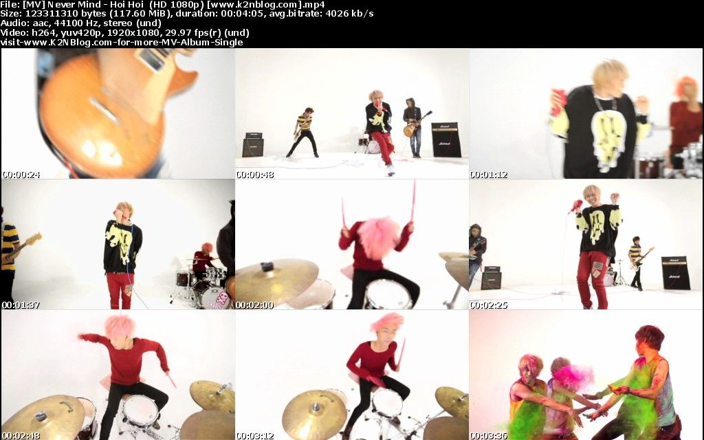 (MV) Never Mind - Hoi Hoi (HD 1080p Youtube)
