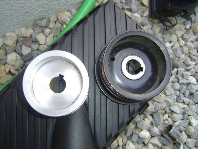 installateurs de poulie de compresseur de s8 s8